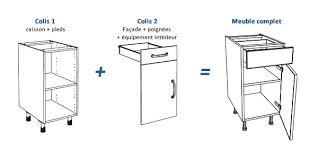 caissons cuisine meuble caisson cuisine cuisine en image