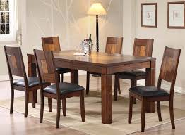 Solid Oak Dining Room Set Solid Wood Dining Room Tables Playmaxlgc