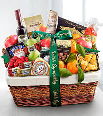 sympathy basket with sympathy fruit and gourmet basket sy68 gifts