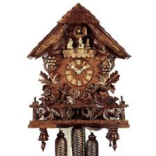 Modern Cuckoo Clock 8 Day Cuckoo Clocks Hand Carved German Clocks Clockshops Com