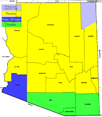 Map Of Yuma Arizona by Tv Market Maps