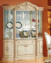ivory lacquer finish royal classic dining room by esf