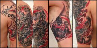 half sleeve of superman joker and harley quinn