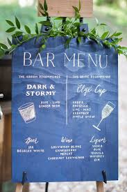 best 25 bar menu ideas on pinterest wedding bar menu menu
