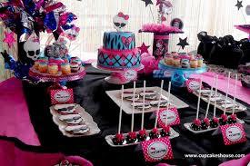 monster high birthday ideas afoodaffair me
