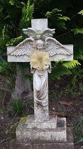 grave tombstone angel cross church religion cemetery statue grave tombstone