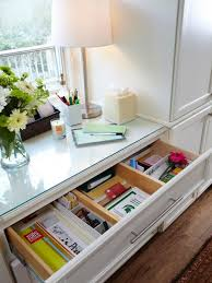 kitchen office organization ideas organizing the kitchen junk drawer hgtv