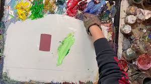 is paint any this artist perfectly match any color is strangely