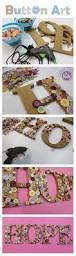 32 diy projects made with buttons teen kids button art and
