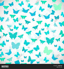 Invitation Card Background Design Abstract Butterfly Background Vector Illustration Of Blue