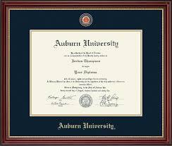 auburn diploma frame auburn masterpiece medallion diploma frame in