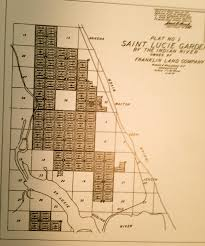 Map Of Port St Lucie Florida by Hamilton Disston Jacqui Thurlow Lippisch