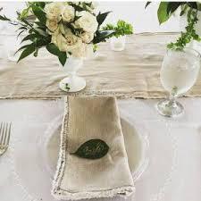 napkin rentals linen napkins runners designs by hemingway