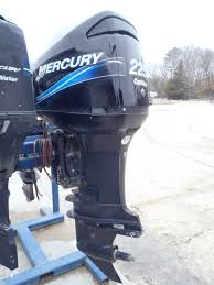used 2003 mercury 225xl saltwater optimax 225hp boat motor