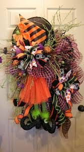 152 best halloween wreath u0026 arrangement images on pinterest