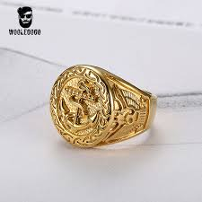 mens vintage rings images Stainless steel luxury gold rings vintage mens jewelry yes dealz jpg