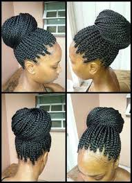 put your hair in a bun with braids 119 best hairstyles images on pinterest african hairstyles hair