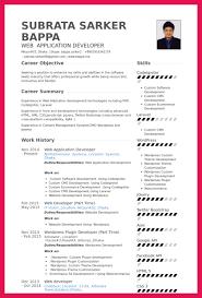 Front End Developer Resume Application Developer Resume Sop Examples