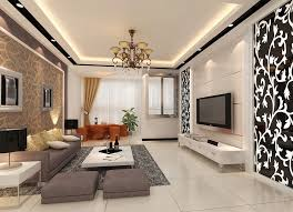 room interior brushed brass living room chandelier with white coffee desk in white