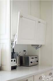 kitchen appliance storage ideas totally genius ways to customize your kitchen cabinets smart