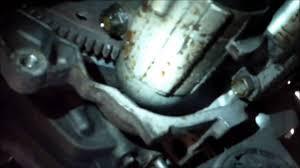 how to replace starter motor chevrolet malibu youtube
