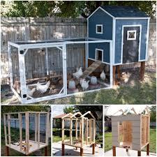 Backyard Chicken Coop Ideas 4 Coop24 Chicken Coop Ideas Diy Colorful And Homey Home Design 3