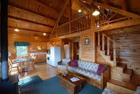 Log Cabin Living Room Designs Pine Grove Big Leaf Cabin 6 Living Room With Wood Burning Stove