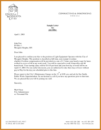 job offer letter template notary letter
