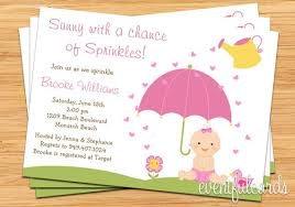 what is a sprinkle shower baby sprinkle shower invitation for girl also available in boy by