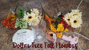 Fall Floral Arrangements Dollar Tree Fall Floral Arrangement Youtube