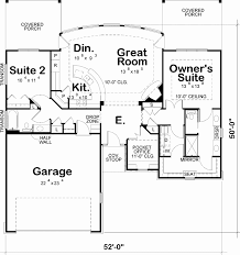 one story floor plan one story floor plans with two master suites new floor plan house