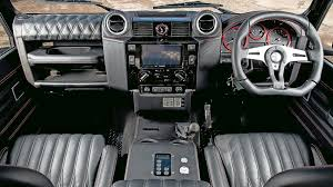 land rover 2007 interior land rover defender urban truck rs ultimate 2015 review by car