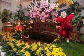 Bellagio Botanical Garden Celebrate The Lunar New Year At Bellagio S Conservatory