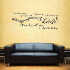 1d one direction little things music song lyrics notes sticker 1d one direction little things music song lyrics notes sticker wall