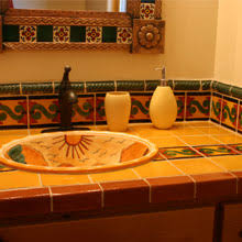 mexican tile bathroom designs mexican sinks mexican tile designs