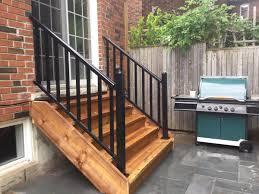 split level entry classic railing classicrailing twitter