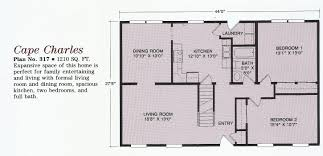 Cape Floor Plans by Sunrise Affordable Homes