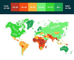 What Is A Climate Map The Predicted Impact Of Climate Change Tutor2u Geography