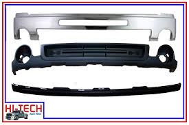 Valance Parts New 07 08 09 10 11 12 13 Gmc Sierra Chrome Front Bumper W Valance