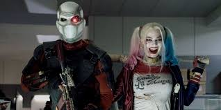 zombie jesus halloween costume deadshot joins harley quinn as squad pair prepare double