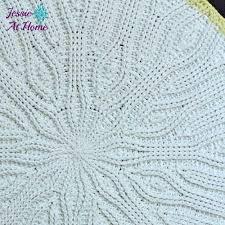 Easy Crochet Oval Rug Pattern Old Fashioned Oval Rug Allfreecrochet Com