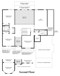 Barrington Floor Plan by The Woods Of South Barrington Signature Collection The Raphael