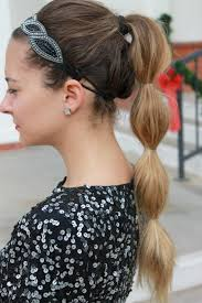 headband ponytail 32 best fancy ponytails images on hair dos hairstyles