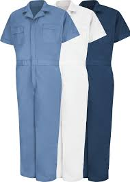 blue mechanic jumpsuit light weight coveralls work apparel