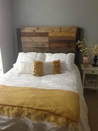 Reclaimed Wood Headboard by Top Wood Queen Headboard Queen Size Bed Headboard Wood Headboard