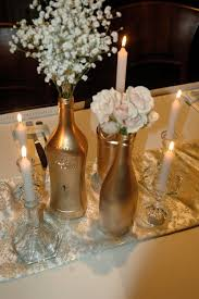 Wine Bottle Centerpieces Cool Gold Wine Bottles 52 Gold Glitter Wine Bottles Gold Wine