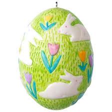 easter egg ornaments 2017 bouncing bunny easter egg ornament hooked on hallmark ornaments