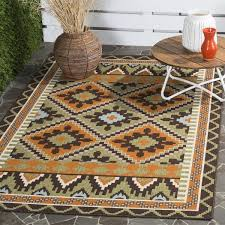 Veranda Living Indoor Outdoor Rug Safavieh Veranda Piled Indoor Outdoor Green Terracotta Rug 2 U00277
