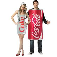 coca cola halloween horror nights upc code 2016 buy coke u0026 diet coke couples costume