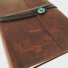 santa fe leather photo album with slip in sleeves u2013 jenni bick